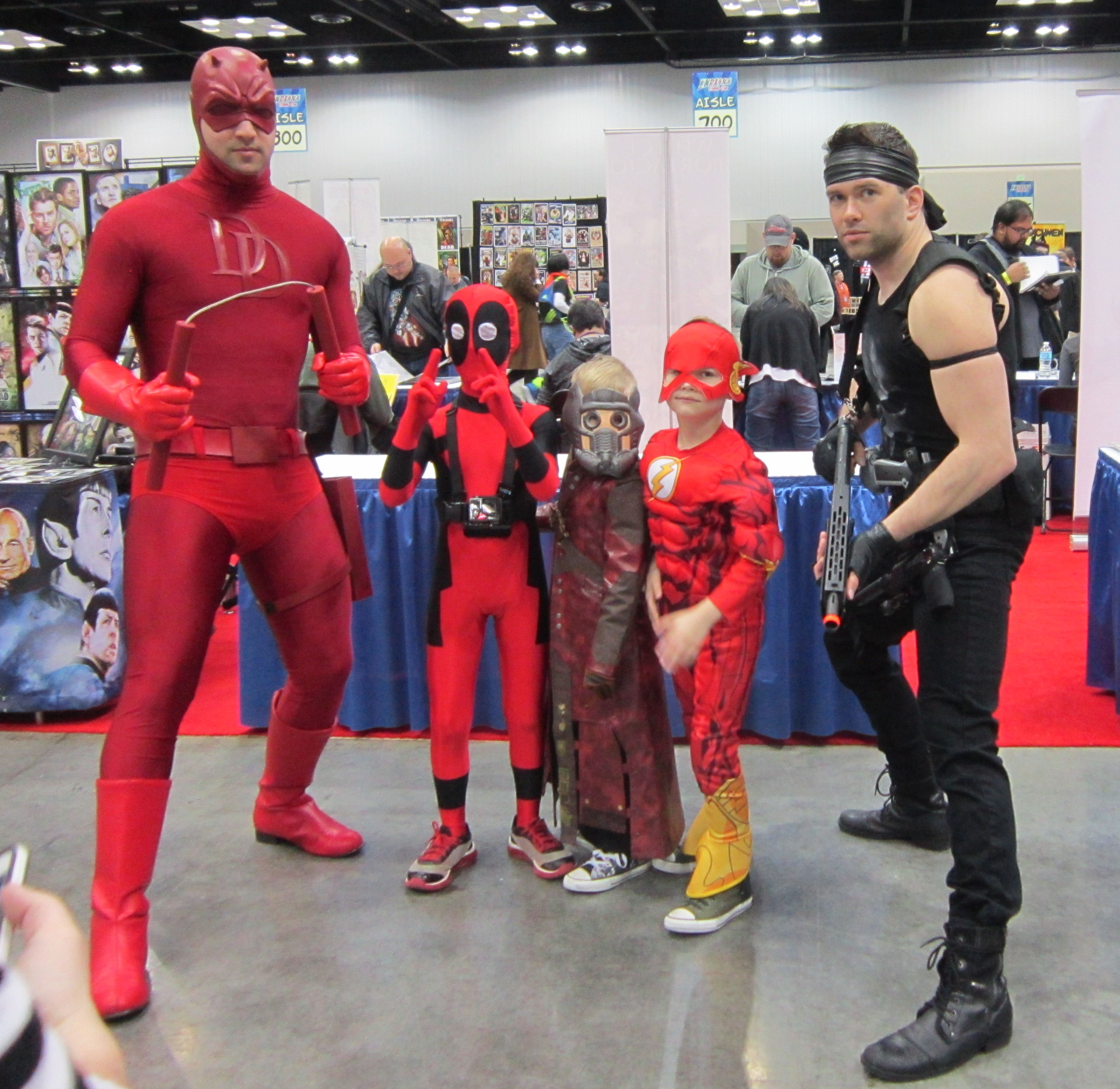 indiana comic con 2018 photos 1 our lucky friday the 13th  sc 1 st  Best Kids Costumes & Kids Daredevil Costume - Best Kids Costumes