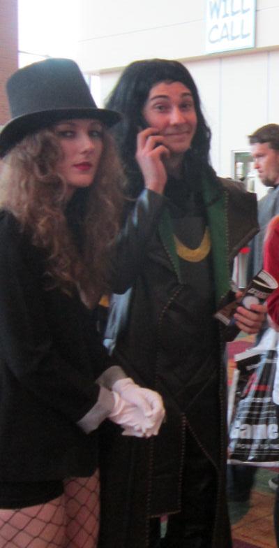 Zatanna + Loki!