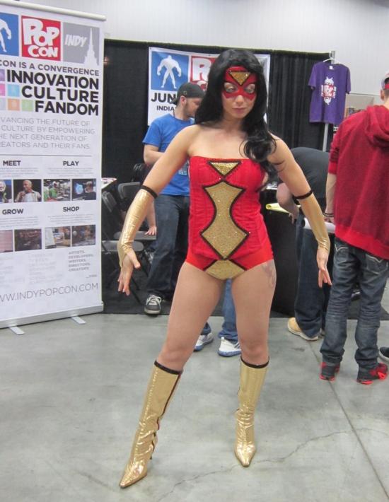 Spider-Woman!