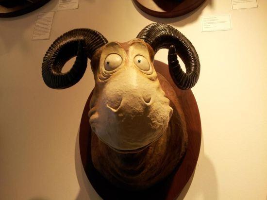 Seuss animal head!