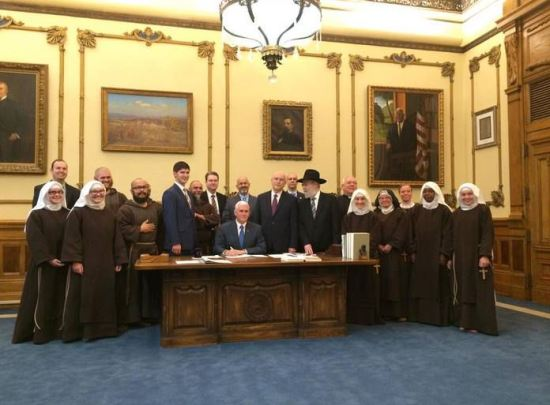 Pence RFRA signing, 3/26/2015