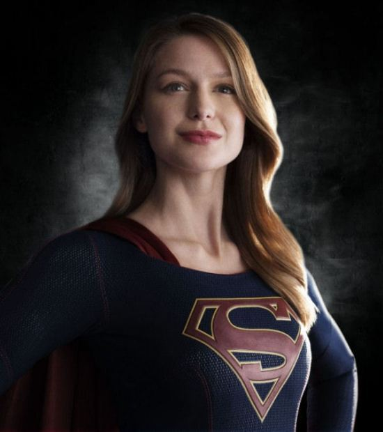 Supergirl Smiles!