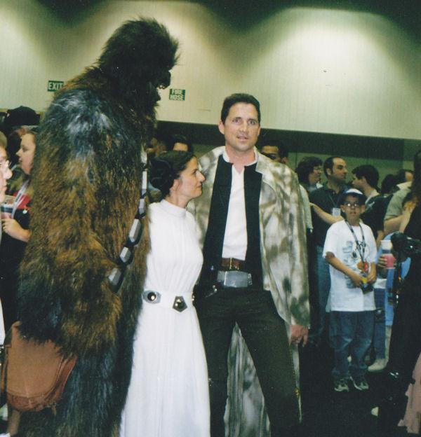 Han Leia Chewie!