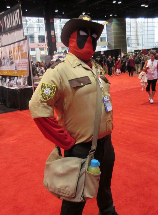 Sheriff Deadpool!