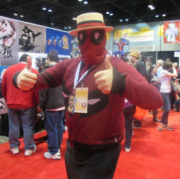 Mr. Wilson Deadpool!