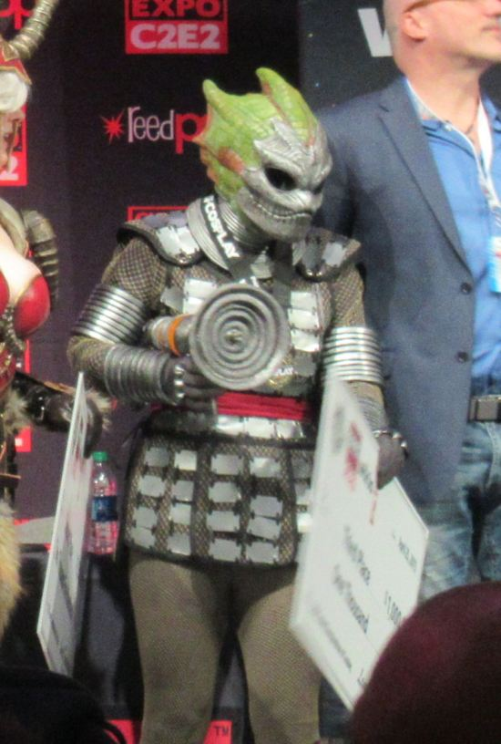 Silurian warrior!