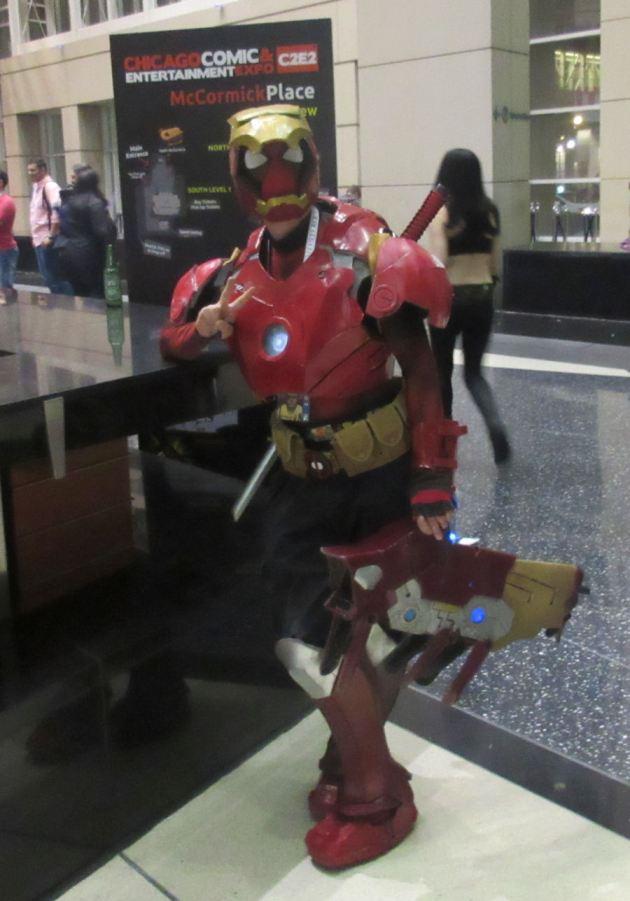 Iron Deadpool!