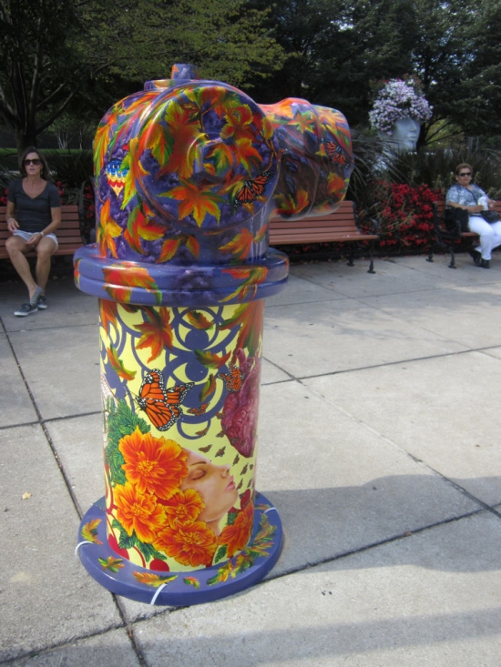 Fire hydrant!