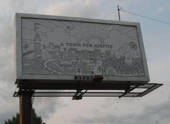 Fargo Billboard!
