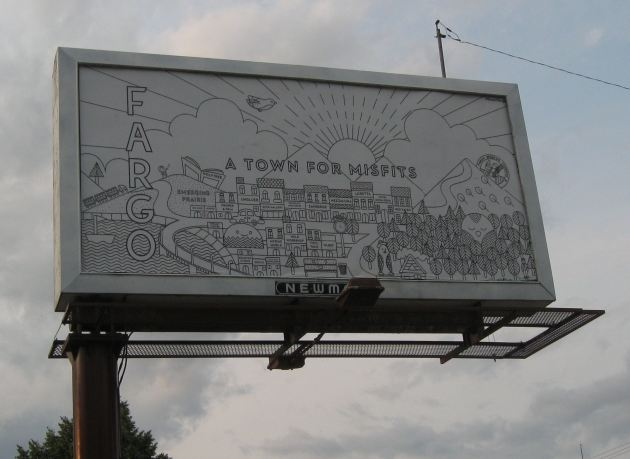 Fargo Billboard!