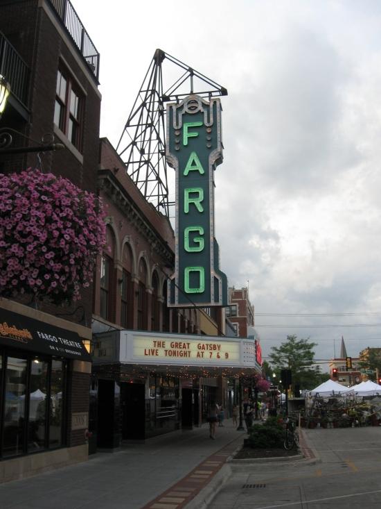 Fargo Theater Marquee!