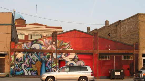 Peacock Mural!
