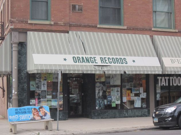Orange Records!