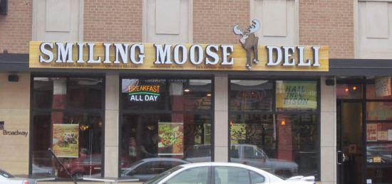 Smiling Moose!
