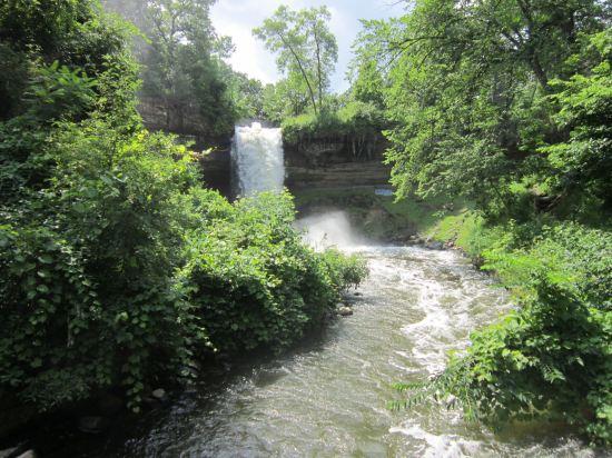 Minnehaha Falls!