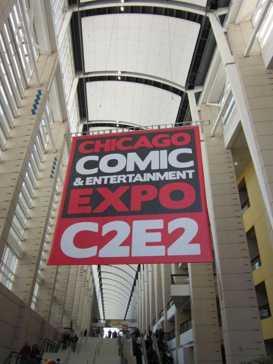 C2E2 Sign!