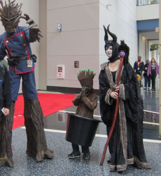 Groots + Maleficent!