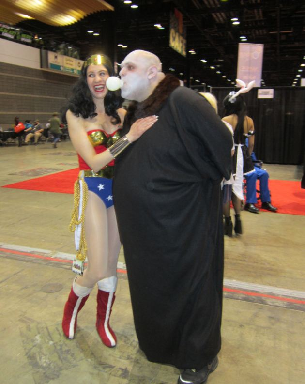 Wonder Woman and Uncle Fester!