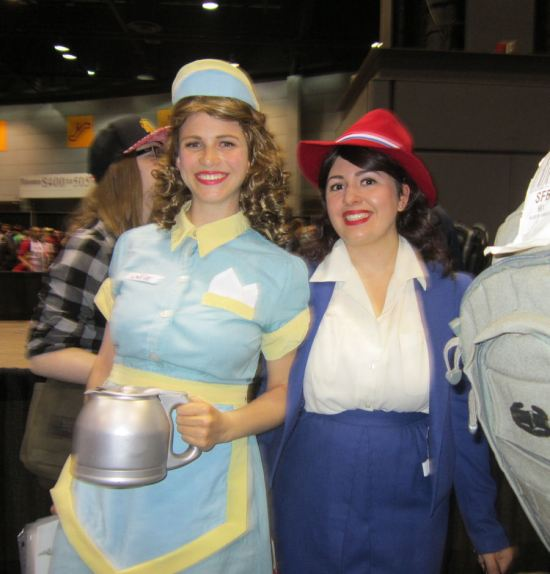 Agent Peggy Carter and Angie!