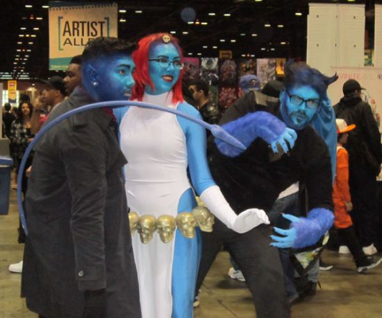 Blue Mutant Group!