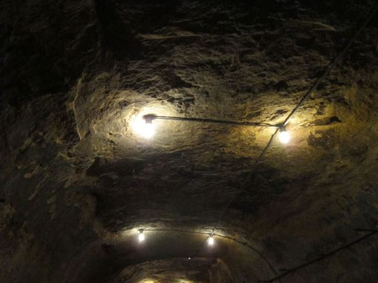 It's a Cave Ceiling!