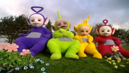 Teletubbies Time Warp!