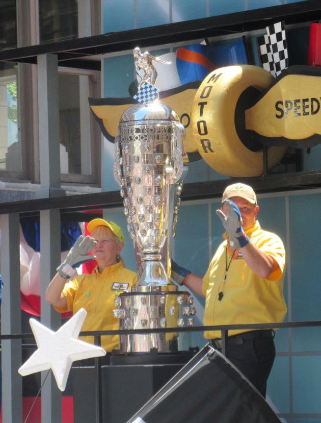 Borg-Warner Trophy!