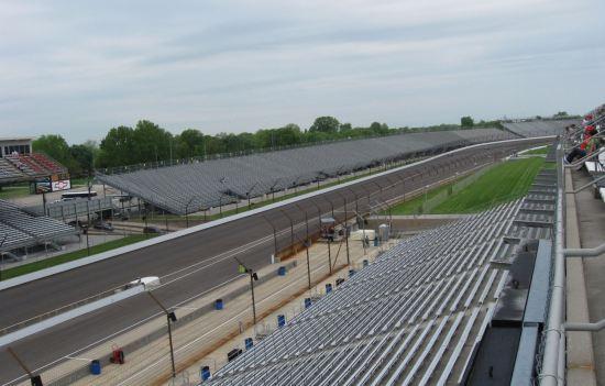 Indy 500 Turn 4!