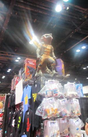 Rocket Raccoon Statue!