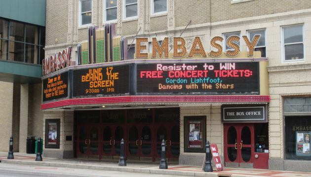 Embassy Marquee!