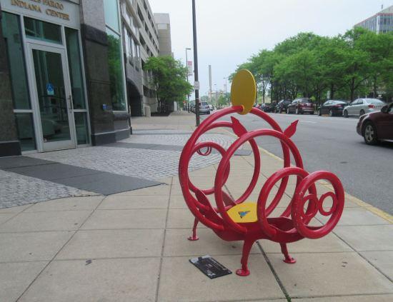Bike Rack Pig!