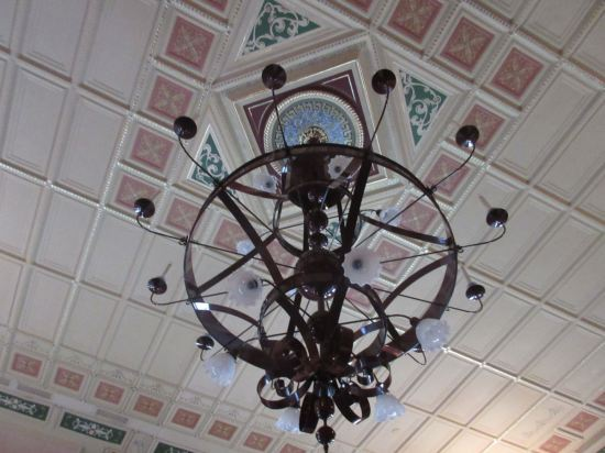History Chandelier!