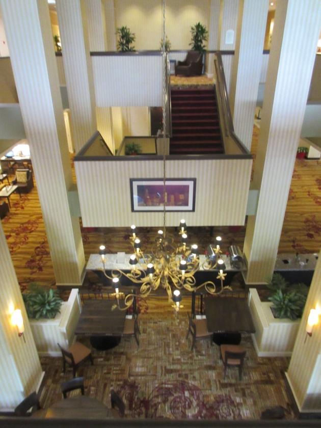 Hilton Chandelier!