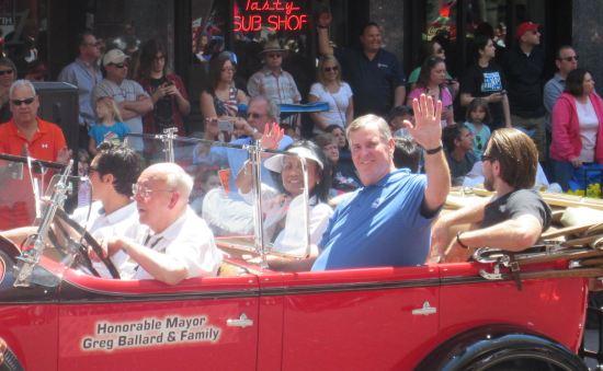 Mayor Greg Ballard!