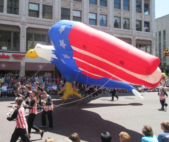 Patriotic Eagle!