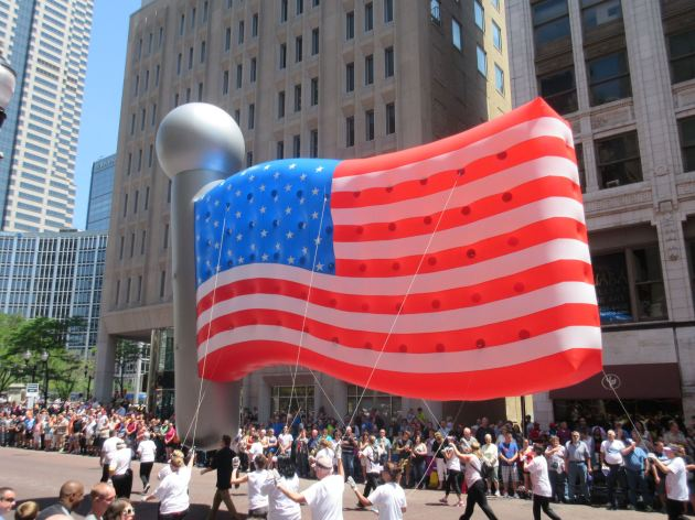 Inflatable Flag!
