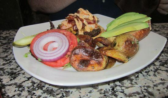 Cajun Shrimp + Beef!