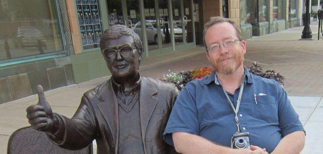 Ebert and me!