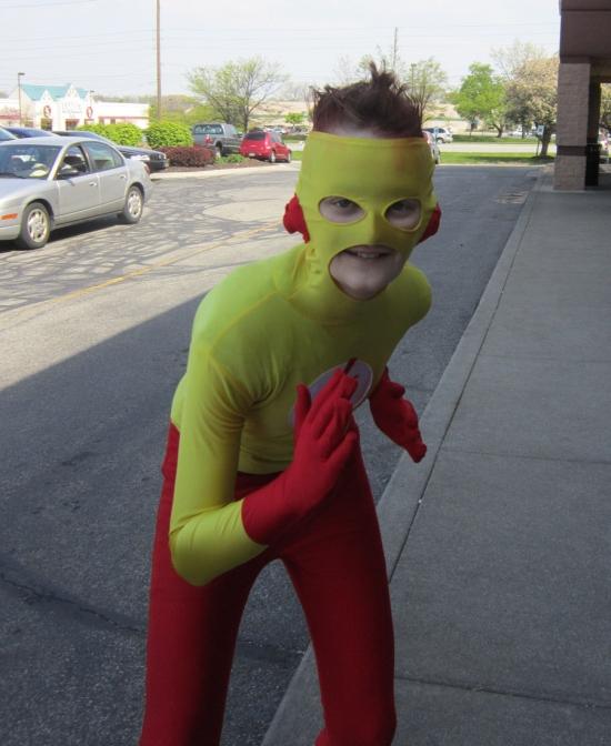Kid Flash!