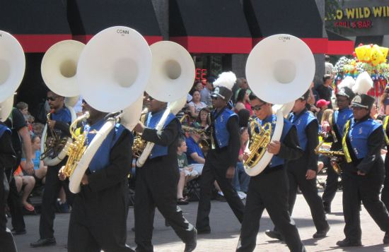 Indianapolis Public Schools All-City Marching Band!