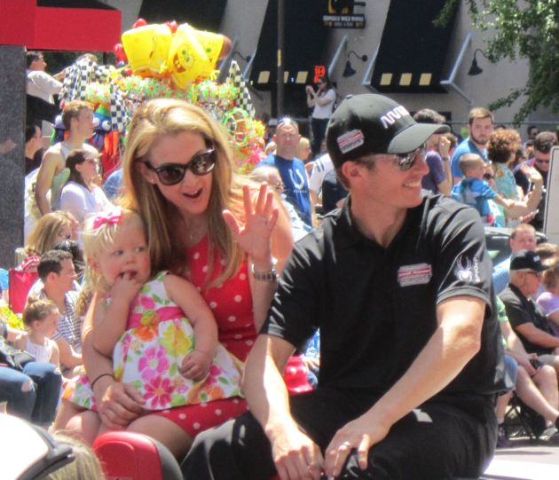 Nicole and Ryan Briscoe!