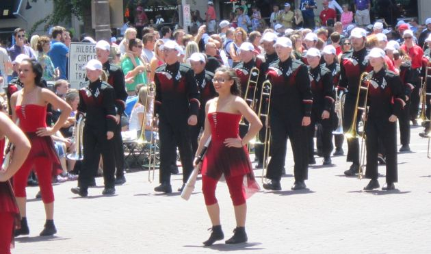 Lafayette Jefferson High School Marching Band!