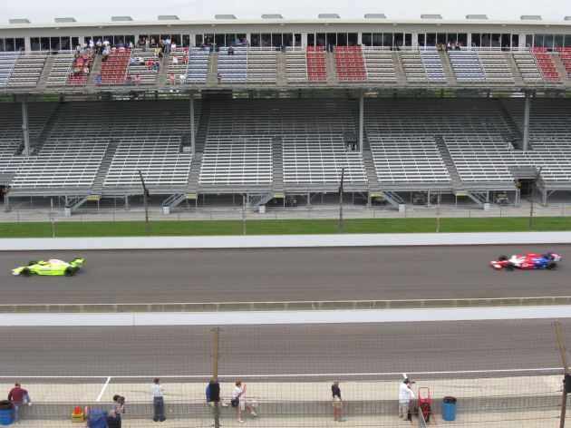 Indy 500 Cars Go Fast!
