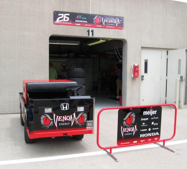 Marco Andretti Venom Cart!