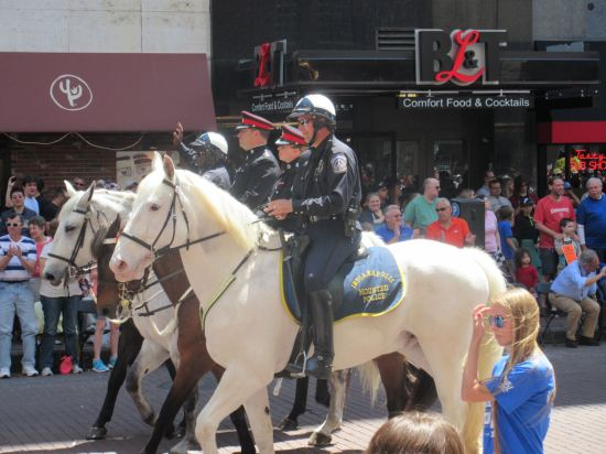 Mounted Police!