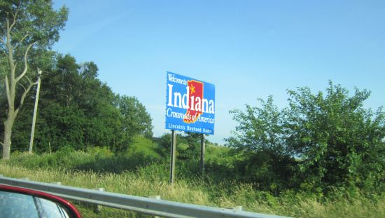 Welcome to Indiana!