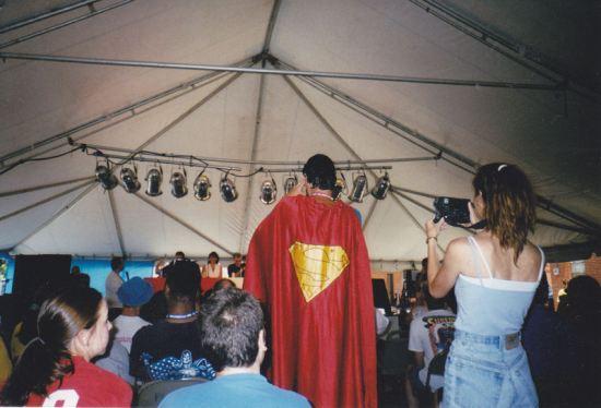 Superman cosplay!