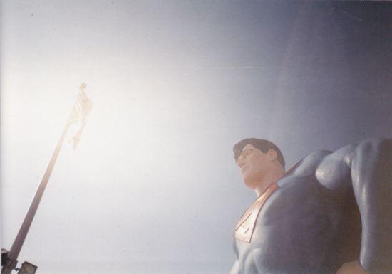 Superman + American Flag!