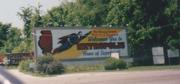 Superman Billboard!