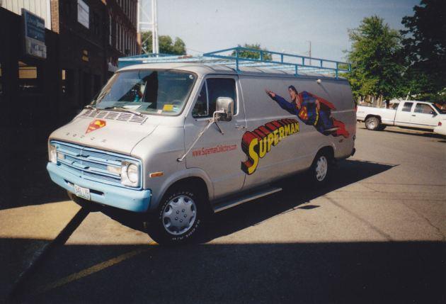 Superman Van!